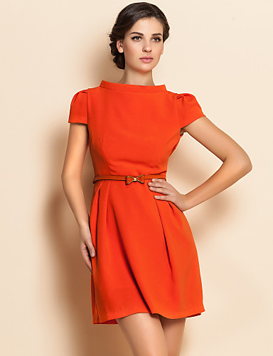 ts-stand-collar-puff-sleeve-belt-dress_xzyazh1353981287086