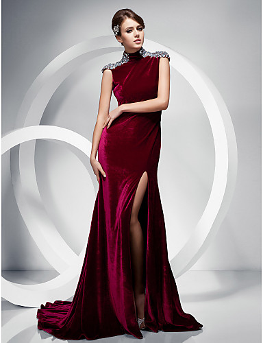 trumpet--mermaid-high-neck-sweep--brush-train-velvet-evening-dress_cbsmfk1323767920180