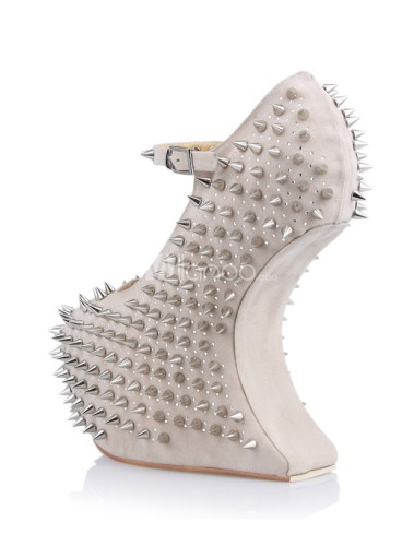 Sexy-Beige-Ankle-Strap-Spikes-Women-s-Wedge-Shoes-229556-2